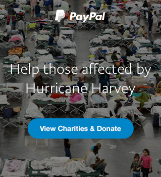 Help those affected by Hurricane Harvey