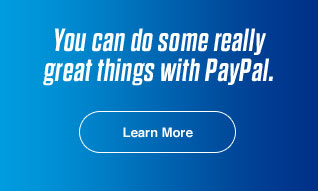 You can do some really great things with PayPal. Learn More
