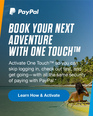 BOOK YOUR NEXT ADVENTURE WITH ONE TOUCH