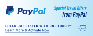 Check out faster with one touch™   Learn More & Activate Now