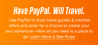 Have PayPal. Will Travel.